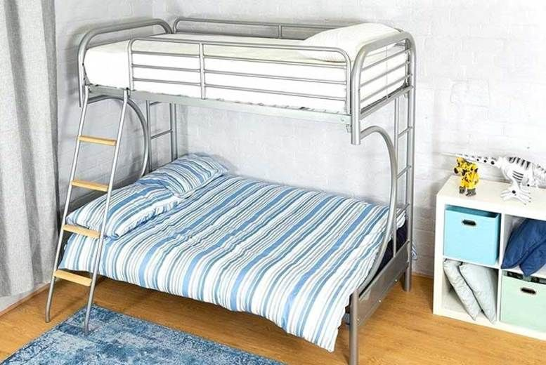 Curved Futon Bunk Bed with optional mattress - 2 Sizes!
