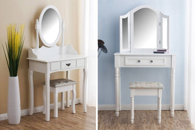 Dressing Table Set - 4 Options!