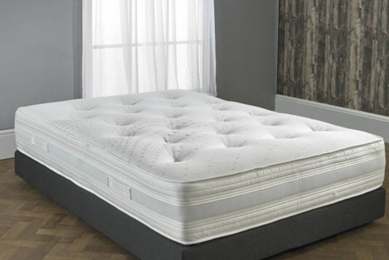 Hybrid 2000 GelTech Pocket Spring Mattress - 5 Sizes!
