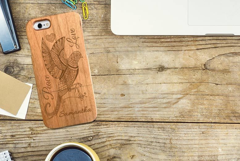 more photos 783cf 65e34 Personalised Wooden Phone Case - iPhone & Samsung - 21 Designs ...