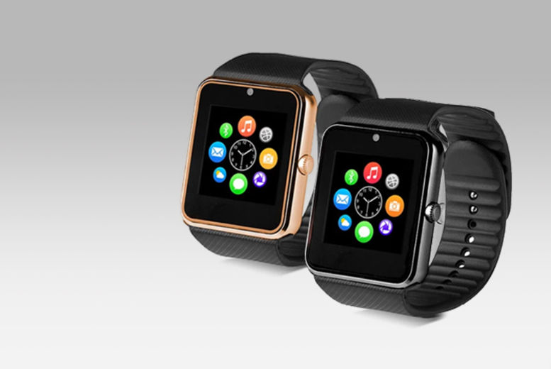 20-in-1 BAS-TeK GT08 Smartwatch - 4 Colours!