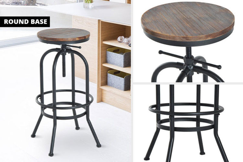 Fine Vintage Style Bar Stool Chairs Stools Beanbags Deals Gmtry Best Dining Table And Chair Ideas Images Gmtryco