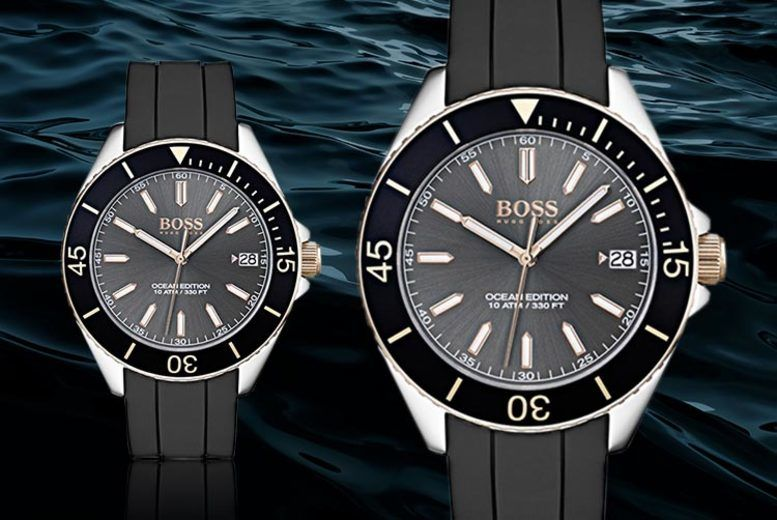 Hugo Boss HB1513558 Divers Watch!