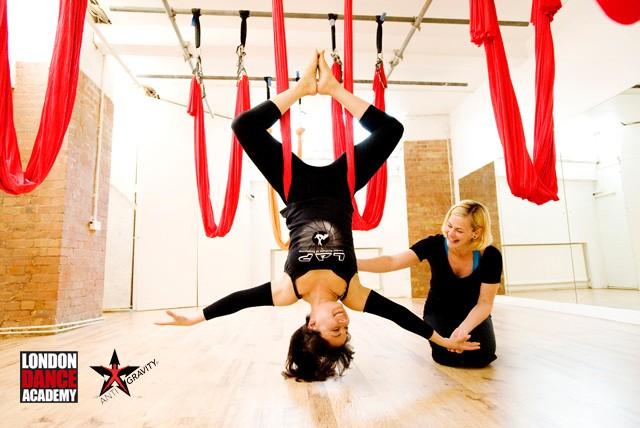 Aerial yoga london classes