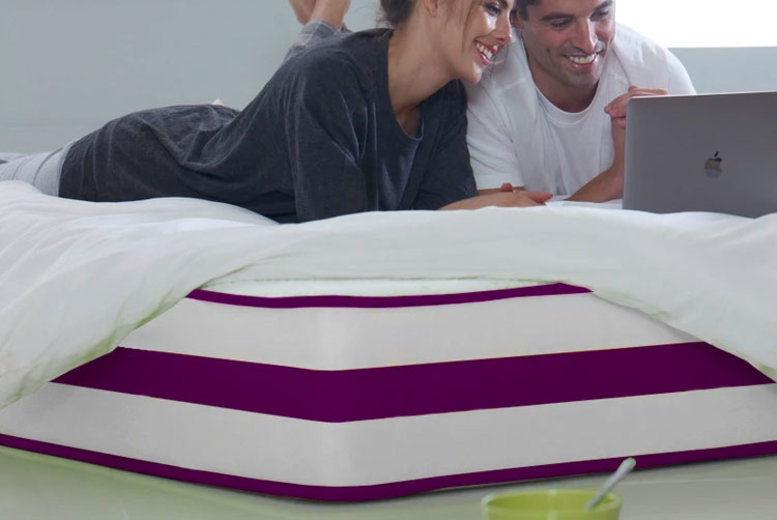 Purple Border Memory Foam Mattress – 5 Sizes! (from £59)