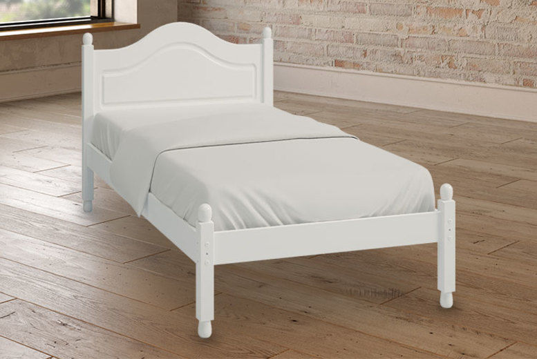 Richmond Solid Pine Single Bed - 4 Colours!