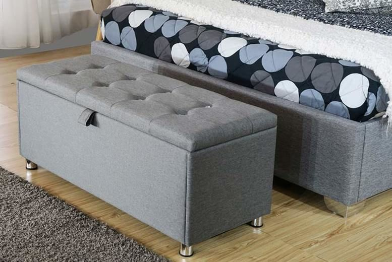 Wondrous Paris Storage Ottoman Shop Livingsocial Machost Co Dining Chair Design Ideas Machostcouk