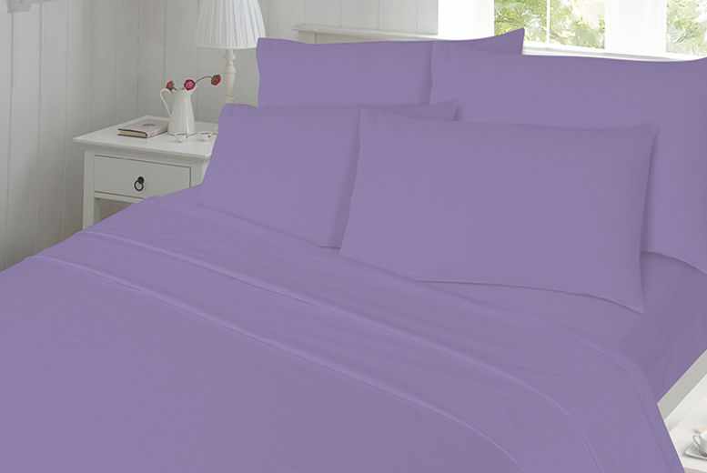 Brushed Cotton Bedding Set– 10 Colours!