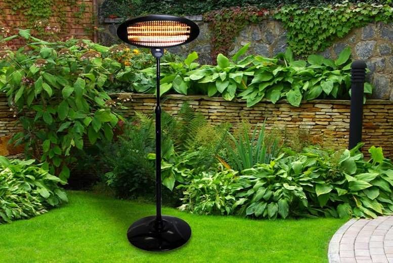 Outdoor Electric Patio Heater Garden Leisure Deals In Shop Livingsocial