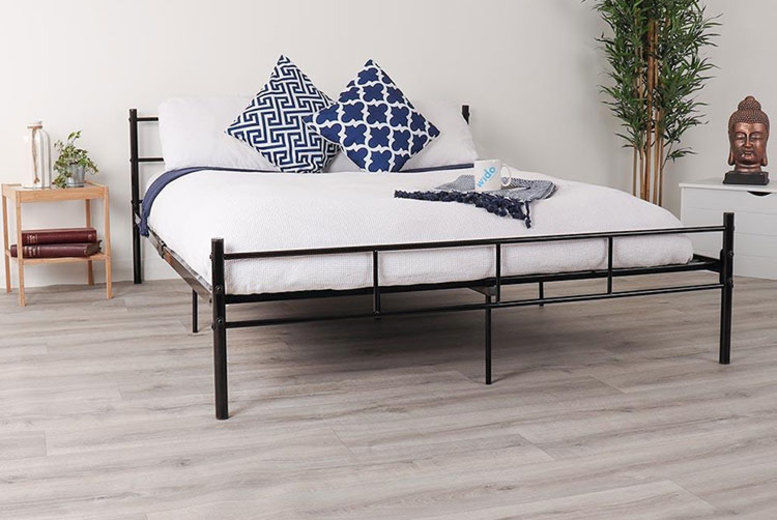 Metal King Size Bed – 3 Colours!