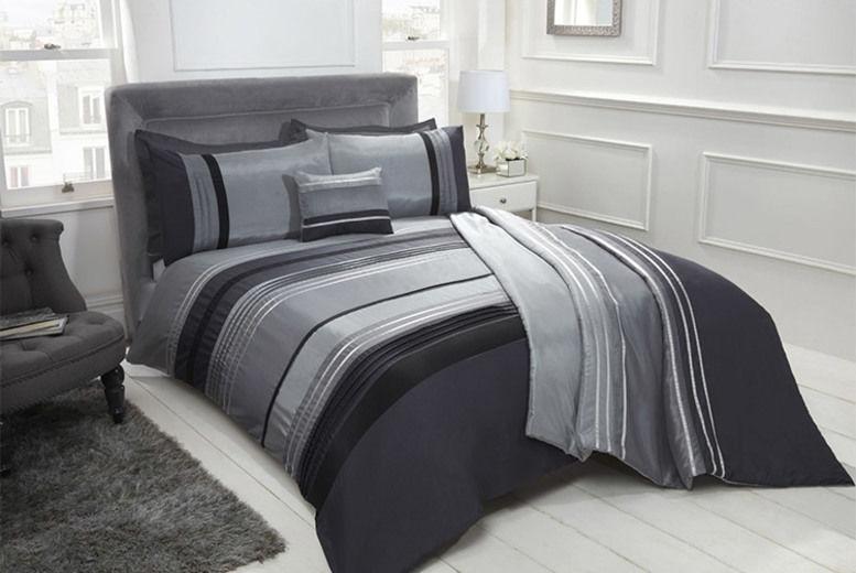 Chicago Bedroom Set - Cushion, Throw & Duvet Options!