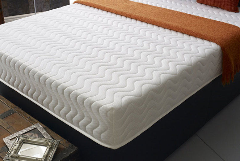 Pure Comfort Memory Foam Mattress – 5 Sizes! (from £59)
