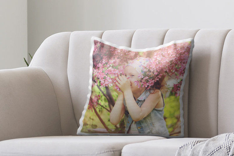 Personalised Sweet Dreams Photo Cushion