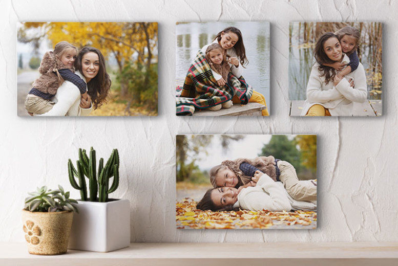 Personalised Photo Canvas (from £5.99)