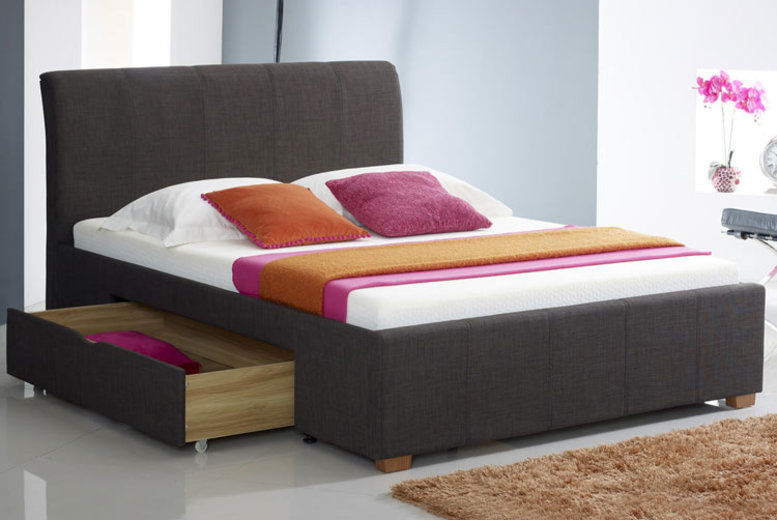 Drawer Storage Bed - 2 Colours & 2 Sizes!