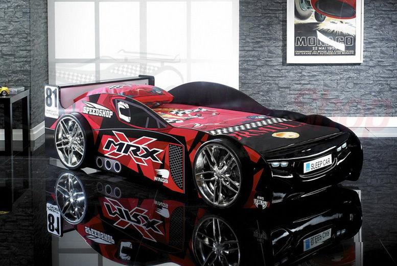 Kids Racing Car Bed with Optional Mattress!
