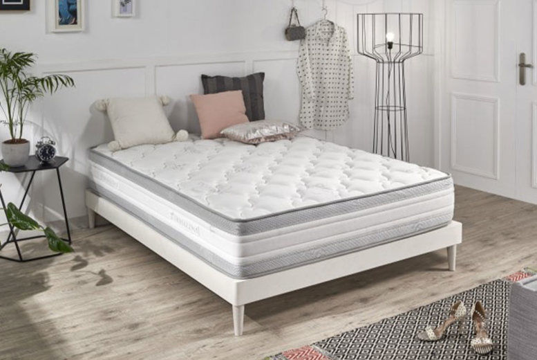 Grey Memory Foam Luxury Mattress - 4 Sizes!