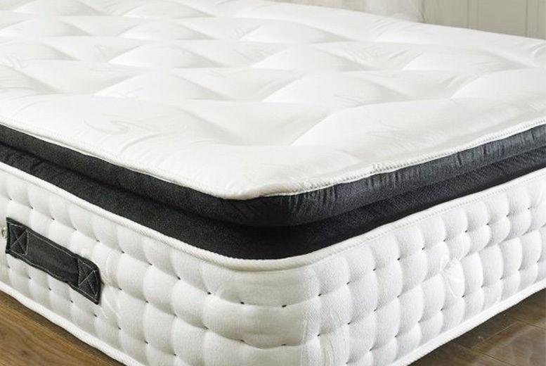 Organic 3000 Orthopaedic Pocket Spring Pillow Top Mattress