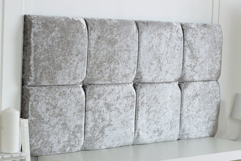 Crushed Velvet Headboard - 5 Colours & 6 Sizes!