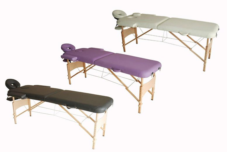Portable Folding Massage Table - 3 Colours!