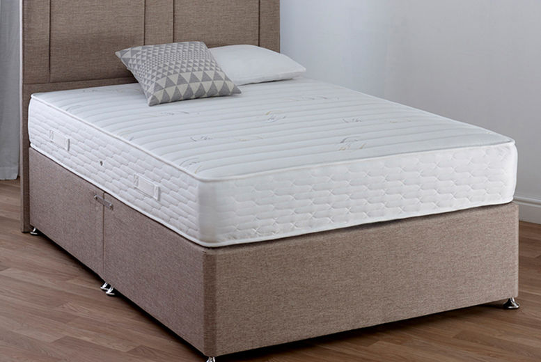 King Charles 7500 Ultimate Comfort Mattress – 5 Sizes! (from £129)