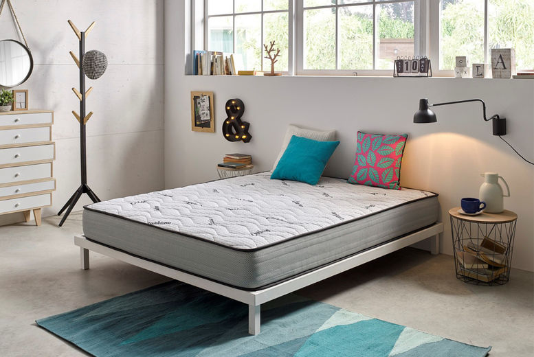 Visco Luxury Carbon Mattress - 4 Sizes!