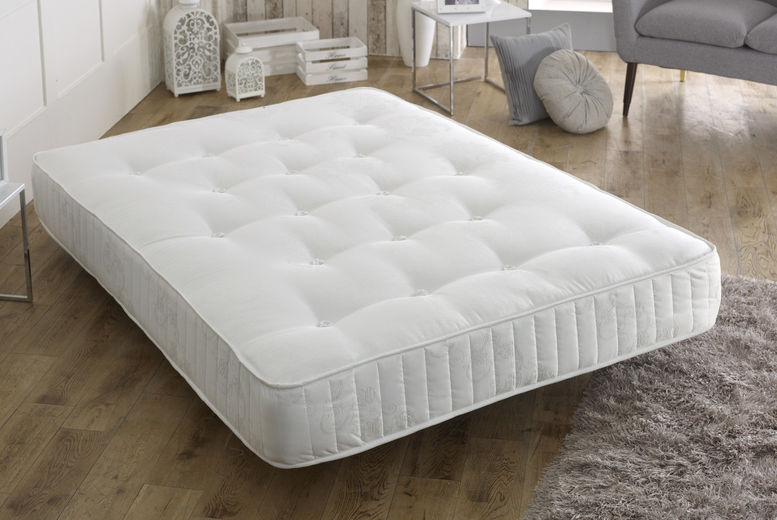 Vertigo Sprung Deluxe Cool-Touch Memory Mattress - 4 Sizes!