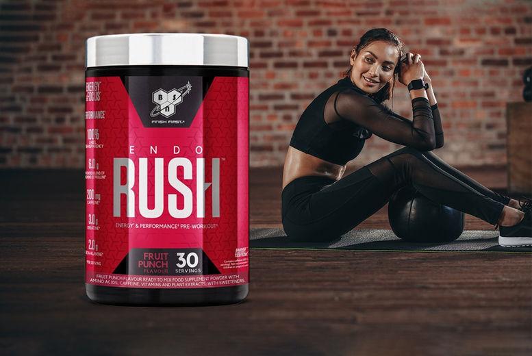 BSN Endorush Pre-Workout | Slimming & Detox Supplements deals in Shop | Wowcher