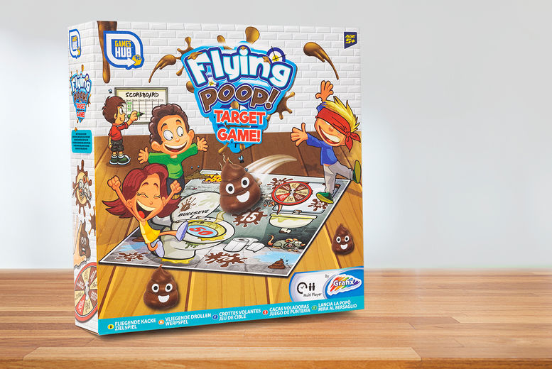 Flying Poop Target Game Children And Baby Deals In Shop Wowcher