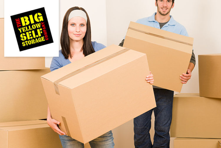 big yellow self storage voucher london wowcher. Black Bedroom Furniture Sets. Home Design Ideas