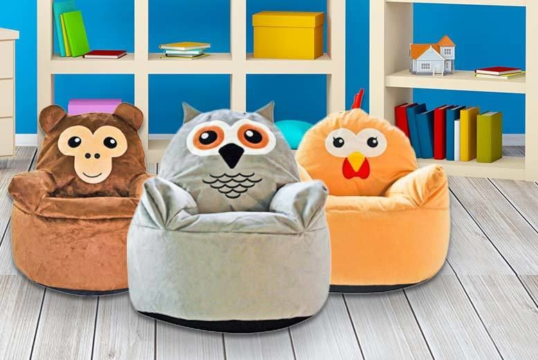 Super Kids Animal Beanbag Chair Shop Livingsocial Creativecarmelina Interior Chair Design Creativecarmelinacom