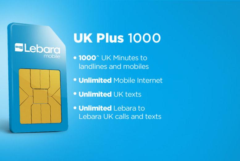 Lebara Mobile SIM Card   Glasgow   Wowcher