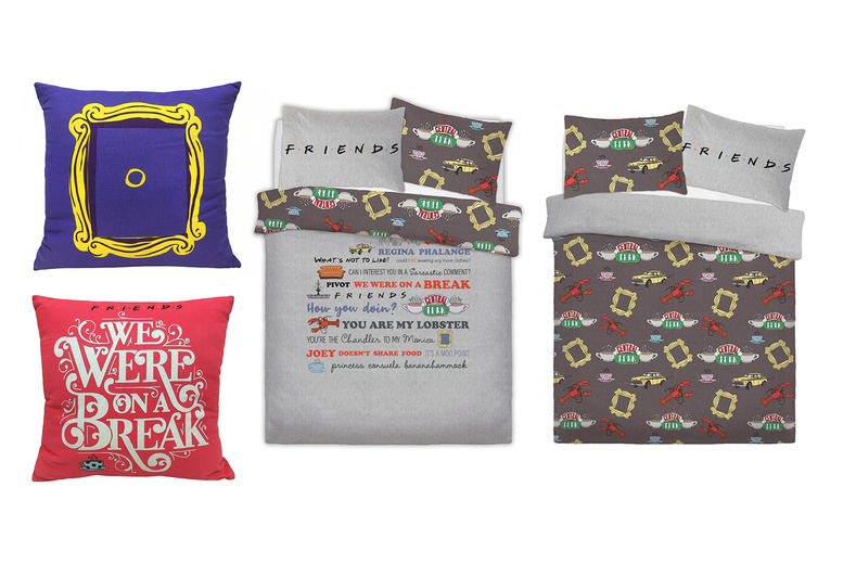 FRIENDS THE TV SHOW Reversible SINGLE //DOUBLE //KING Duvets Throws// Pillow
