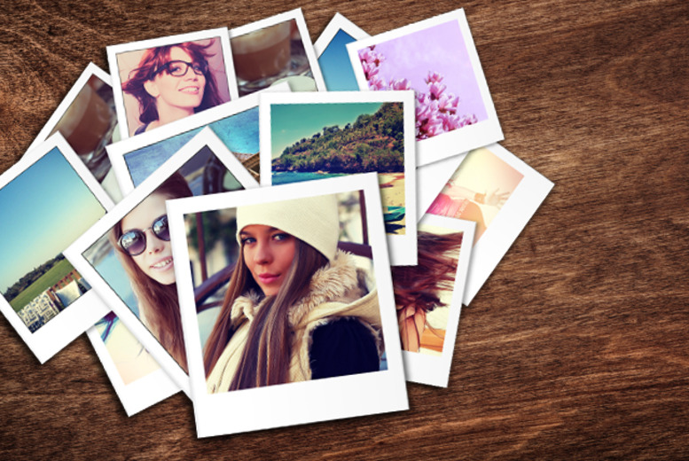 instagram polaroid-style prints | shop | wowcher