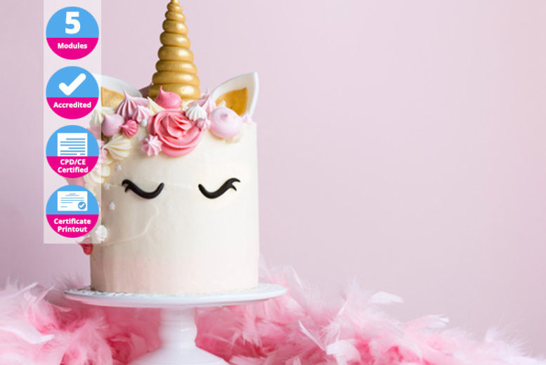 Peachy Baking Cake Design Course Shop Wowcher Funny Birthday Cards Online Alyptdamsfinfo
