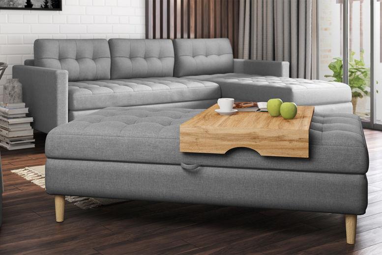 Copenhagen Grey Corner Sofa