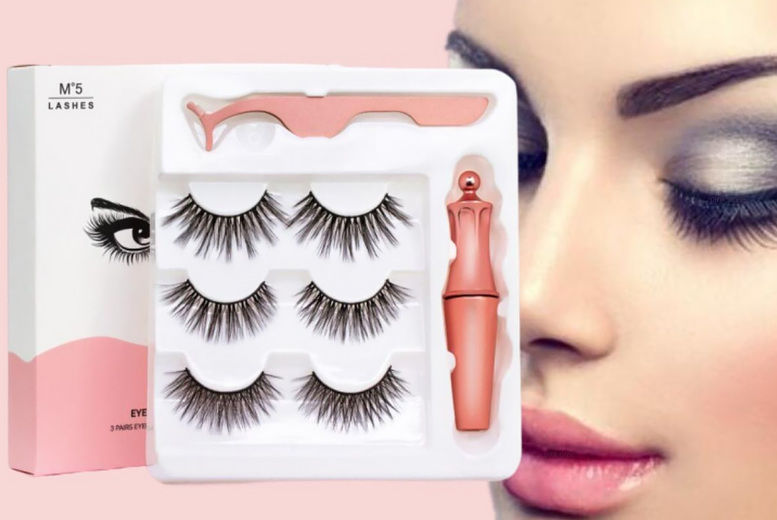 PinkPree---3-Pair-of-Different-Magnetic-Eyelashes-and-Magnetic-Eyeliner-Kit