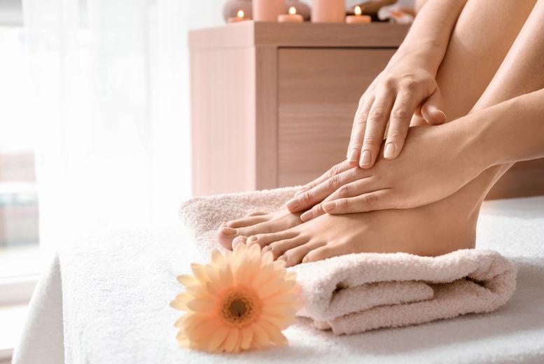 Foot Treatment, Stock Image