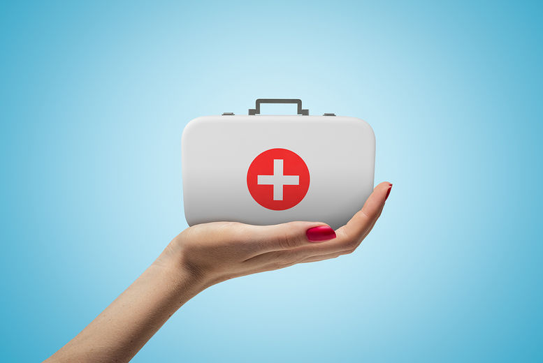 First Aid, Stock Image