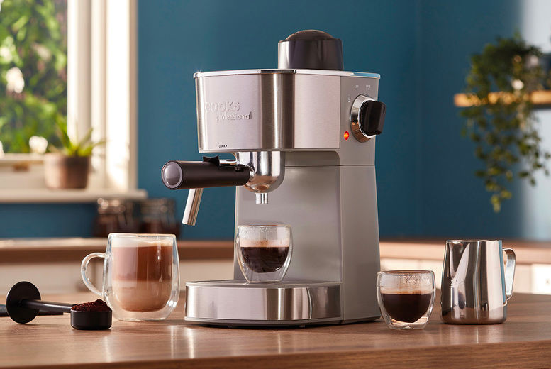 Espresso Maker with Milk Froth Arm 2 Colour Options!