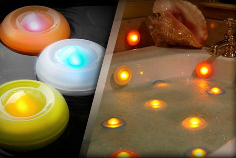 Colour-Changing Spa Bath Lights   Shop   Wowcher