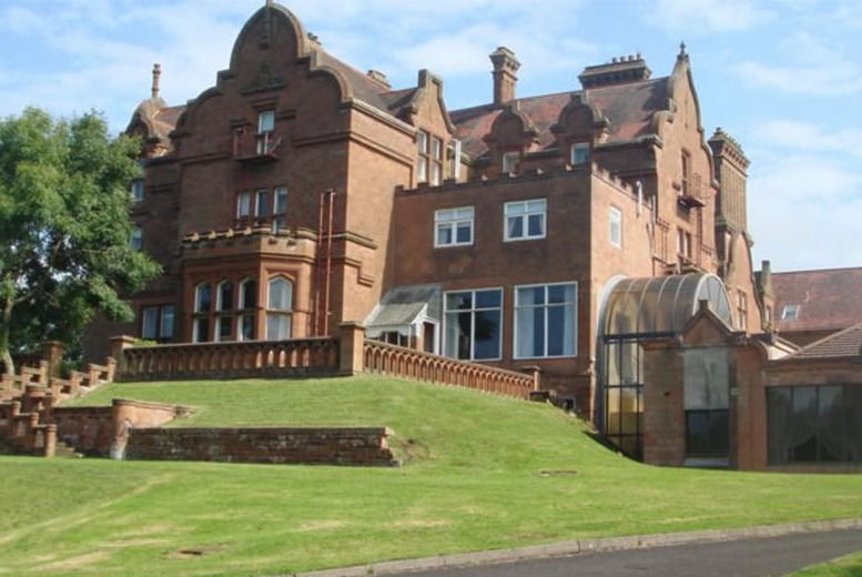 Ayrshire Manor Amp Dinner For 2 Travel Wowcher