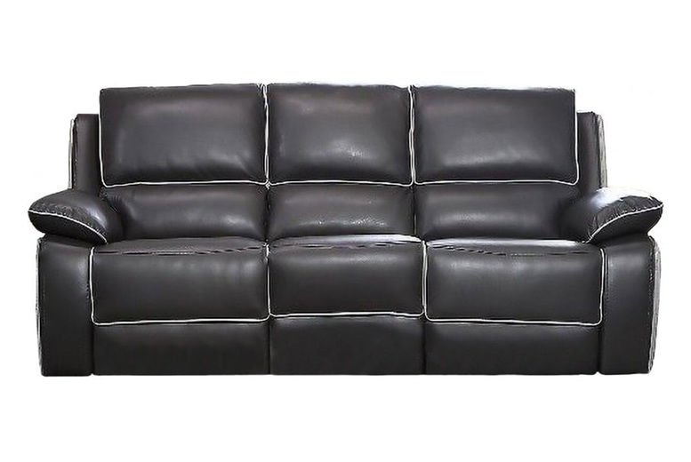 3-Seater Recliner Leather Sofa