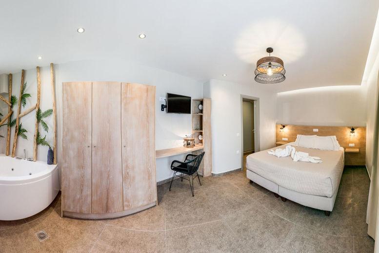 Fomithea Hotel, Santorini, Greece - Double Bedroom
