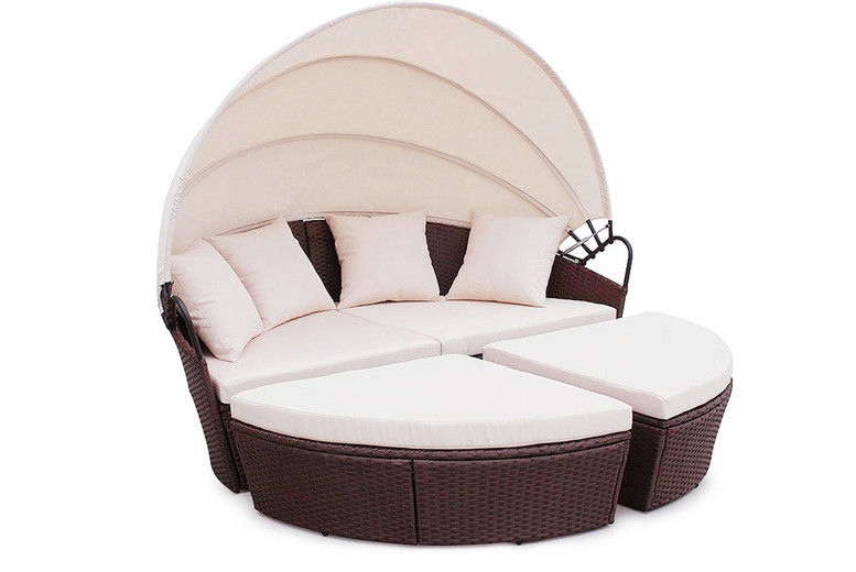 Outdoor Rattan Bali Day Bed