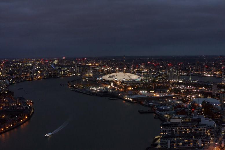 London, Stock Image - Aerial O2