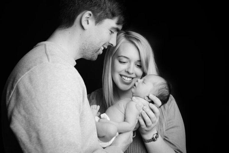 Parents & Baby Photoshoot & Prints
