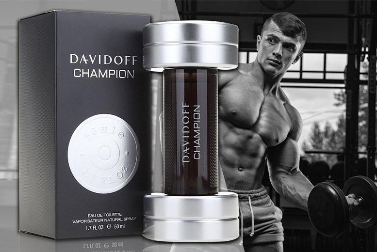 50ml Davidoff Champion EDT Deal | Perfumes deals in London