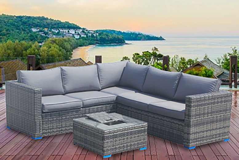 Better Homes And Gardens Replacement Cushions Azalea Ridge, Outdoor Corner Rattan Sofa Deal Garden Deals In Shop Wowcher