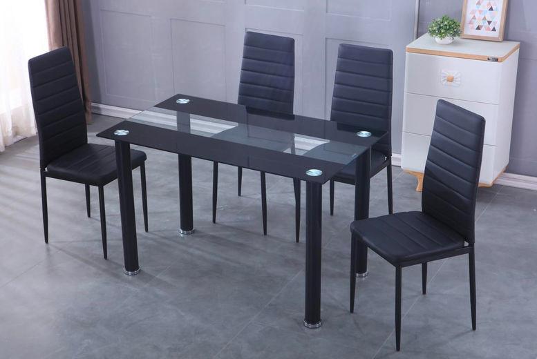 Modern Dining Furniture Set Deal Shop Wowcher